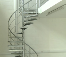 Spiral Stairs Helical And Straight In Cornwall UK